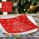 "Servietten ""X-Mas/Weihnachten"" 20er Pack - sort."