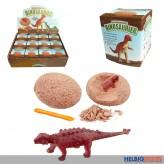 """Ausgrabungs-Set """"Dinosaurier im Ei"""" 7 cm - inkl. Meißel"""