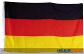 """Fahne / Flagge """"Deutschland"""" gr. - 150 x 90 cm"""