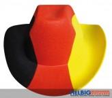 """Filz-Cowboyhut """"Deutschland"""""""