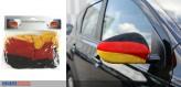 """Aussenspiegel-Flagge """"Deutschland"""" 2er-Set"""