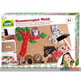 """Holz-Hammerspiel """"Wald / Forest"""" 64-tlg."""