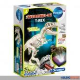 """Galileo - Ausgrabungs-Set """"T-Rex"""" - leuchtet im Dunkeln"""