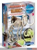 """Galileo - Ausgrabungs-Set """"Mammut"""" - leuchtet im Dunkeln"""