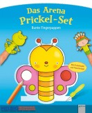 Das Arena Prickel-Set - Bunte Fingerpuppen