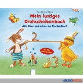 """Kiddilight: Lustiges Drehscheibenbuch """"Alle Tiere-Zählbuch"""""""