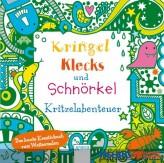 """Kreativbuch """"Kringel, Klecks und Schnörkel"""" - Kritzelabent."""