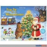 """Klappen-Bilderbuch """"Hugo Bär fährt zum Weihnachtsmann"""""""