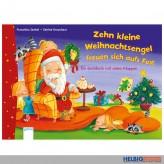 """Klappen-Suchbuch """"10 kl. Weihnachtsengel freuen sich..."""""""