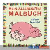 """Mein allererstes Malbuch """"Auf dem Bauernhof"""""""