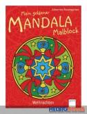 "Mein goldener Mandala Malblock ""Weihnachten"""