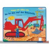 """Kiddilight - Klappbuch """"So ist das auf der Baustelle"""""""