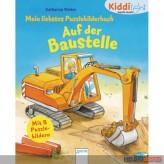 """Kiddilight: M. liebstes Puzzlebilderbuch """"Auf der Baustelle"""""""
