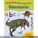 """Lernbuch - Schwungübungen von A-Z """"Dinosaurier"""""""