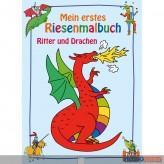 """Mein erstes Riesenmalbuch """"Ritter & Drachen"""""""