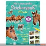 """Sticker-Kreativ-Buch """"Mein riesengr. Stickerspaß - Pferde"""""""
