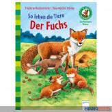 """Sachbuch Bücherbär """"So leben die Tiere...Fuchs"""" 1. Klasse"""