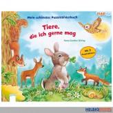 """Kiddilight: M. liebstes Puzzlebilderbuch """"Tiere die ich mag"""""""