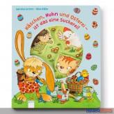 """Pappen-Bilderbuch """"Häschen, Huhn & Osterei...Sucherei"""""""
