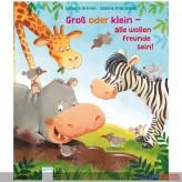 """Pappen-Bilderbuch """"Groß od. klein-alle wollen Freunde sein"""""""