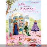 """Anzieh-Spiel-Buch """"Lilia geht zum Elbenball"""" inkl. Sticker"""