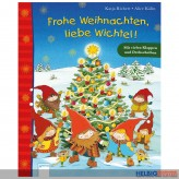 """Drehscheibenbuch """"Frohe Weihnachten, liebe Wichtel!"""""""