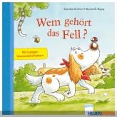 """Bilderbuch """"Wem gehört das Fell"""" m. Verwandelschiebern"""