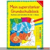 """Lernbuch """"Mein superstarker Grundschulblock"""""""