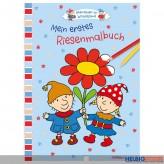"""Mein erstes Riesenmalbuch """"Abenteuer im Wichtelland"""""""