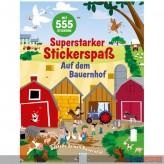 """Kreativbuch """"Superstarker Stickerspaß: Auf dem Bauernhof"""""""