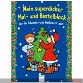 """""""Mein superdicker Mal- & Bastelblock - Weihnachten"""""""