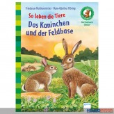 """Sachbuch Bücherbär """"So leben die Tiere...Feldhase"""" 1. Kl."""