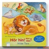"""Hörbilderbuch """"Hör hin Was ist das? - Wilde Tiere"""""""