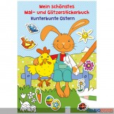 """Mein schönstes Mal- & Glitzerbuch """"Kunterbunte Ostern"""""""