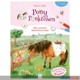 """Rätsel-Sticker-Buch """"Pony Pünktchen"""" m. über 100 Stickern"""