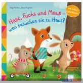 """Fühl-Bilderbuch """"Hase, Fuchs & Maus-wen besuchen sie..."""""""