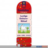 "Bandolo Set 62 - Kindergarten ""Lustige Einhorn-Rätsel"""