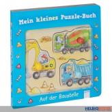 """Mein kleines Puzzlebuch """"Auf der Baustelle"""""""