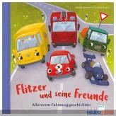 """Pappbilder-Buch """"Flitzer & seine Freunde"""""""