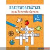 """Kreuzworträtsel-Block """"Schreibenlernen - für die 1. Klasse"""""""