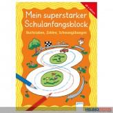 """Lernblock """"Mein superstarker Schulanfangsblock"""" VS + 1 Kl."""