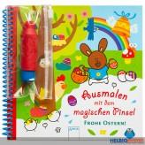 """Zauber-Malbuch """"Ausmalen mit dem magischen Pinsel"""" Ostern"""