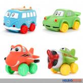 """Kleinkinder-Soft-Fahrzeuge """"Little Stars Vehicles"""" 2er Set"""