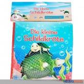 """Badewannenbuch/Badebuch """"Kleine Schildkröte"""" inkl. Tierfigur"""