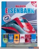 """Malbuch """"Eisenbahn"""" 4-7 Jahre"""