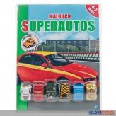 """Malbuch """"Superautos"""" 4-7 Jahre"""