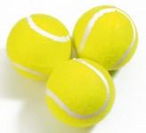 "Tennisbälle ""3er Pack"" gelb"