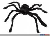 Deko-Spinne schwarz - 65 cm