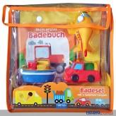 Badeset 5-tlg. - inkl. Badebuch & 3 Fahrzeugen