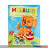 """Malbuch """"Bauernhoftiere"""" inkl. Tierfiguren"""